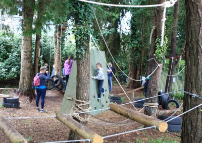 Squirrel Trail Low Ropes